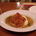 永福町 ichi - (2014.5)地鶏もも肉パリパリ焼き(1700円)
