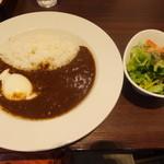 大涌谷 駅食堂 - 特製大涌谷カレー(1150円)