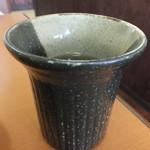 天ぷら徳家 - お茶 【 2014年5月 】