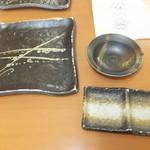 天ぷら徳家 - テーブルに上に 1 【 2014年5月 】