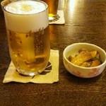 27020791 - 生ビール&お通し