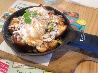 Curry Kitchen VENUS by cafe Madu ルミネエスト新宿店 - 塩キャラメルとナッツのフレンチトースト