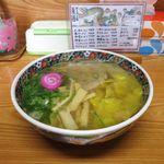 夏堀 - 塩ワンタンメン(880円)