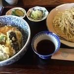 そば切 桔香草 - 蕎麦と天丼のランチ864円