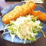 さんぽ道 - イカフライ定食