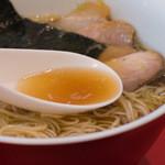 カドヤ食堂 - 1-3)中華そばのスープ