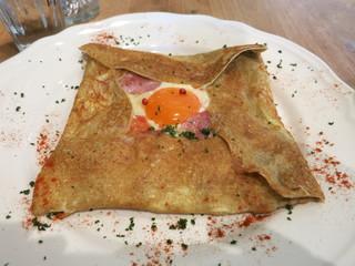 Agato - 筑波ハムと奥久慈卵のコンプレットガレット