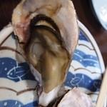 海鮮料理 磯 - 蒸し牡蠣,大きい!