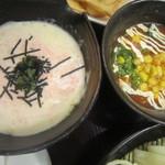 とろとん - 2014/4 左・明太クリーム、右・トマトチーズ