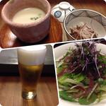 潜龍 - コーンスープ様とトリビーで乾杯!