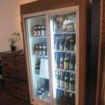 常陸野ブルーイング水戸 - ビンビールも種類がたくさん。