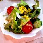 味都苑 - 野菜サラダ!(2014,05/03)