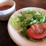 にんにく屋 - サラダとスープ