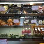 モアザン 地産地消カフェ ぷくぷく - スイーツショーケース
