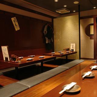 【新宿】落ち着ける空間は同僚との飲み会や、接待にも!