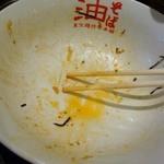 東京麺珍亭本舗 - 完食させていただきました(血糖値コワ!)