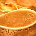 27037014 - とろみのある超濃厚スープです(*´∀`*)