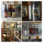 オオトリ酒店 - お酒の種類が豊富で珍しいビールもあります。