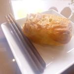 コーヒーショップパーキング - かぼちゃパイ