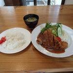 カレー和牛かつめし勝平 - 料理写真:ビーフカツレツ1,200円(税込)