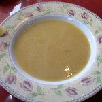 ザ ケバブ - 赤レンズ豆のスープ