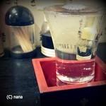 天ぷら亭 - 七冠馬410円。島根のお酒です。