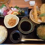 27040753 - 米福定食 ¥1,480(税別)ご飯大盛りは無料