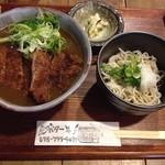 27041197 - カツカレー丼定食(ミニそば(冷))で頂きました。