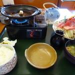 海鮮れすとらん 四季庵 - 野菜たっぷり牛焼肉定食