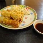 中国亭 - ここでしか食べられない「フワサク春巻き」