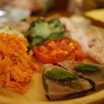 オステリア チ ヴェディアーモ - 前菜の盛り合わせ