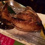 遊魚 和田丸 - かま焼きは日本酒によく合います!