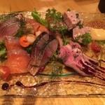 ル・コントワール・ド シャンパン食堂 - おまかせ前菜の盛り合わせ