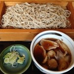 もとしろ - 料理写真:鴨南蛮板そば(並)880円