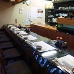 和食乃沙都使 - カウンター席以外にも、区切られた座敷を完備 いろいろな使い方ができます