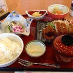 ピュアリティまきび - 和食定食(とんかつ)860円