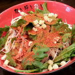 麺屋 彩々 - 辛味噌和え麺