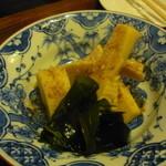 駒込 松本 - 竹の子煮物 800円