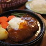 洋食屋バーニーズ - ハンバーグステーキ