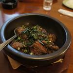 洋食屋バーニーズ - 石焼きステーキ丼