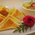カフェ・ド・ブルー - 卵サンド