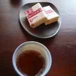 巴屋 - お茶と塩最中