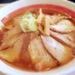 幸楽苑 - 豚バラチャーシュー麺