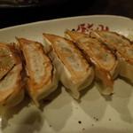 餃々 - 餃々 三条木屋町店の激辛島唐辛子餃子420円(13.10)