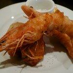 ダ ユウキ - 本日の鮮魚のフリットミスト(海老&鰤)