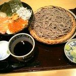 2706088 - 海鮮丼とお蕎麦のセット