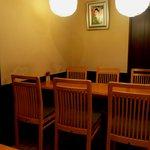 茶寮都路里 - テーブル席