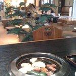 どんどこ湯 レストラン - 雰囲気はよし!!