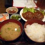 さかい - ハンバーグ定食