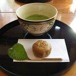 青山亭 - お抹茶と和菓子